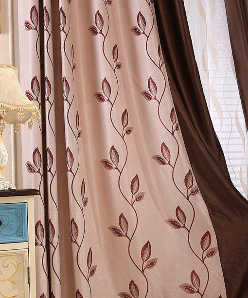 Rèm hoa dây kiểu dáng đơn giản
