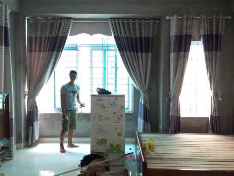 Video hướng dẫn cách lắp rèm cửa vải tại nhà