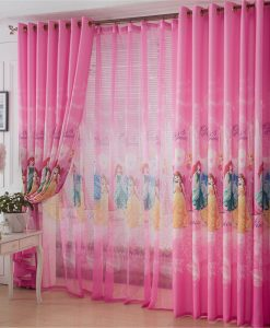 Rèm công chúa cho phòng bé gái
