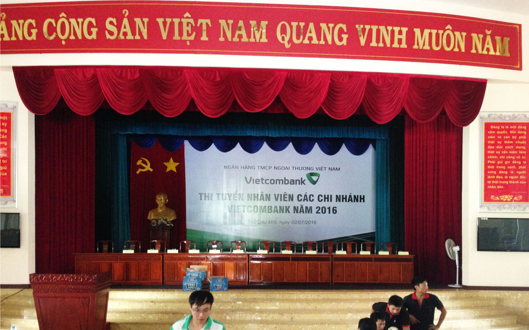 Báo giá phông hội trường giá rẻ tại Hà Nội