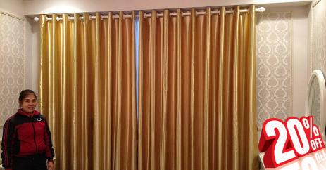 Tuần lễ vàng giảm giá 20% tất cả các mẫu rèm vải
