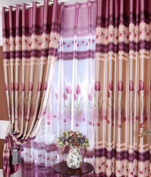 Rèm vải trơn bóng giá rẻ