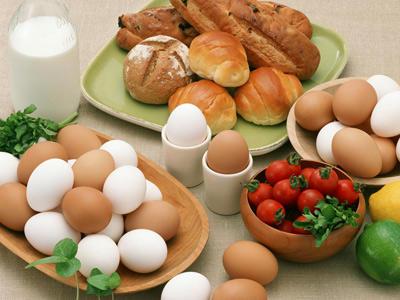 10 thực phẩm bổ sung sắt - Trứng Gà