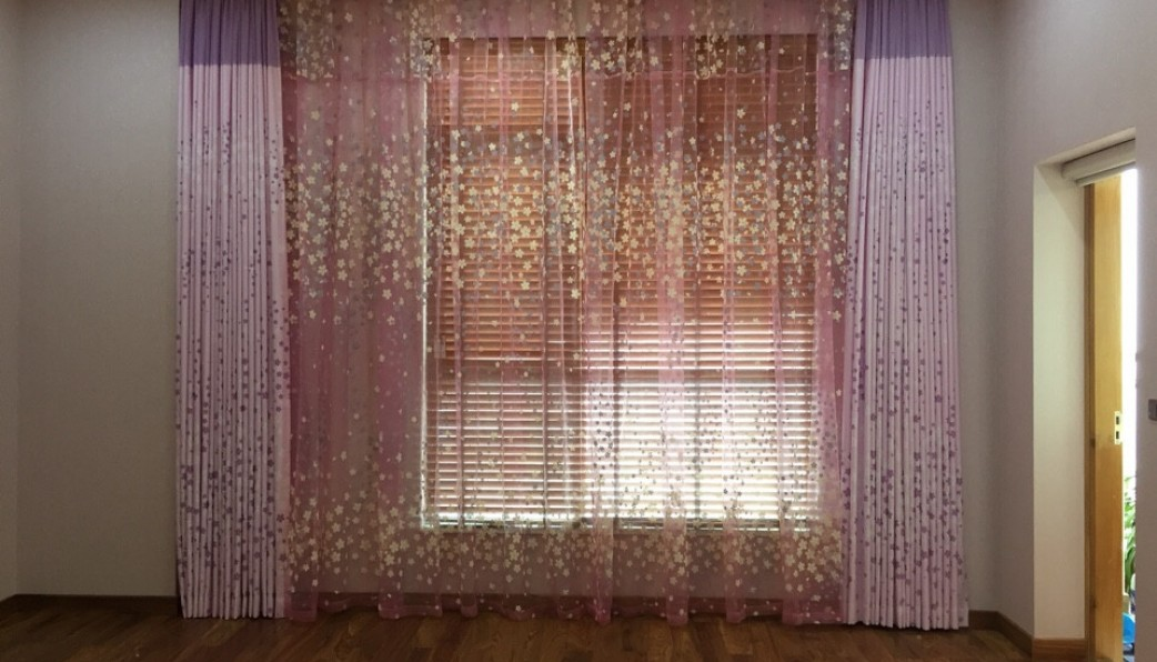 Rèm vải tại cầu giấy