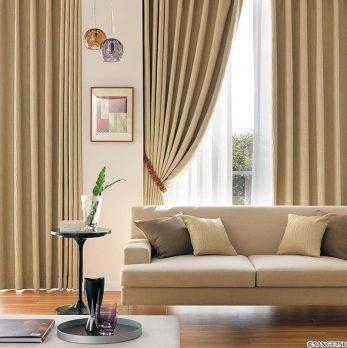 Chọn rèm cửa cho phòng khách ấm cúng hơn khi thời tiết chuyển sang thu , đông