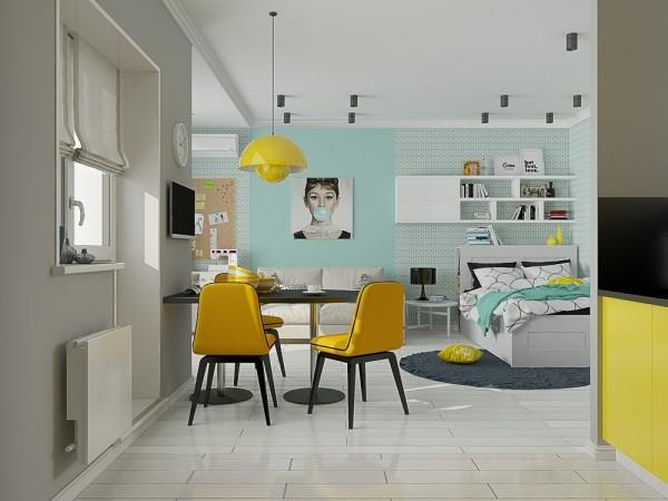 Thiết kế nội thất cho căn hộ diện tích nhỏ