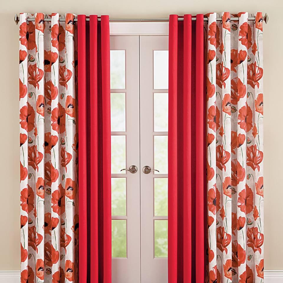 Mẫu rèm cửa phòng khách hiện đại