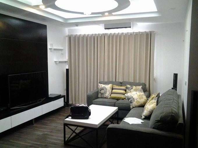 Rèm vải phòng khách đẹp cho chung cư