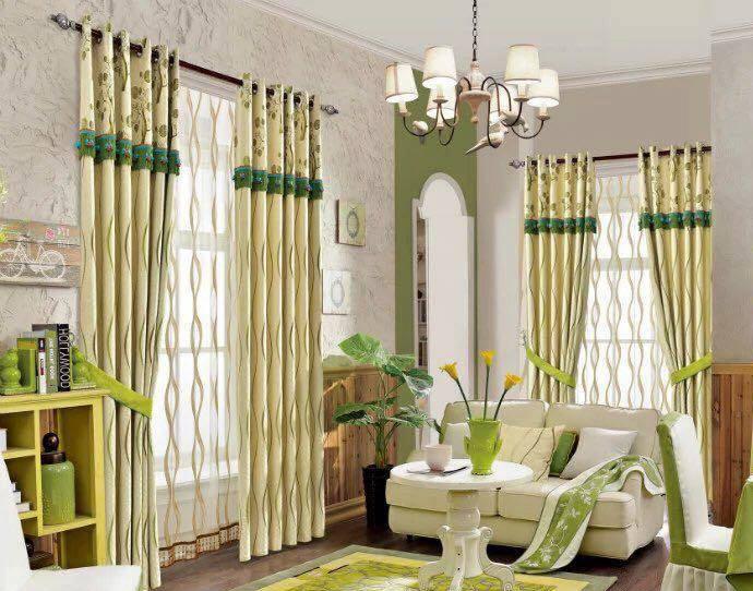 Mẫu rèm cửa hiện đại với phong cách sang trọng