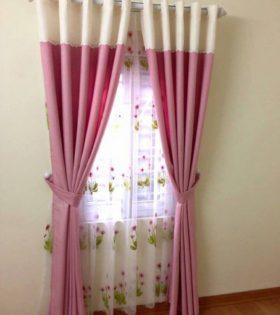 Rèm vải can pha giá rẻ tại Hà Nội