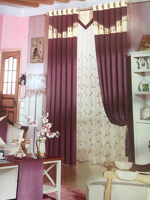 Rèm can pha cách điệu đẹp cho gia đình