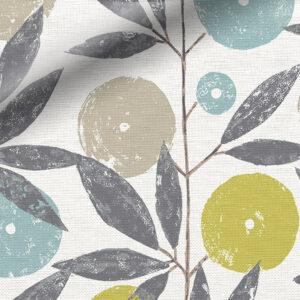 Rèm roman họa tiết hoa văn đẹp