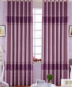 Rèm vải can pha màu hồng cản sáng tốt