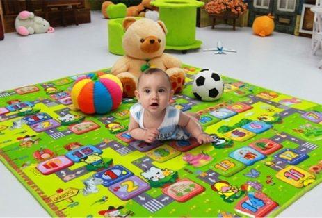 Chọn thảm trải sàn cho bé