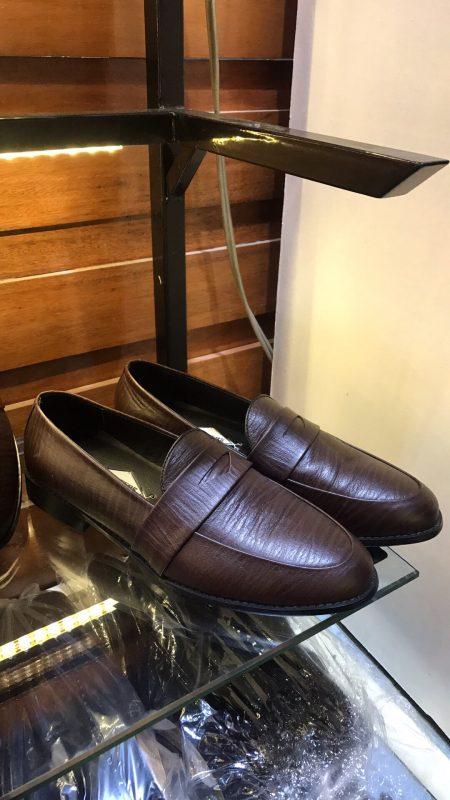 Giày lười nam da bò tự nhiên 100%