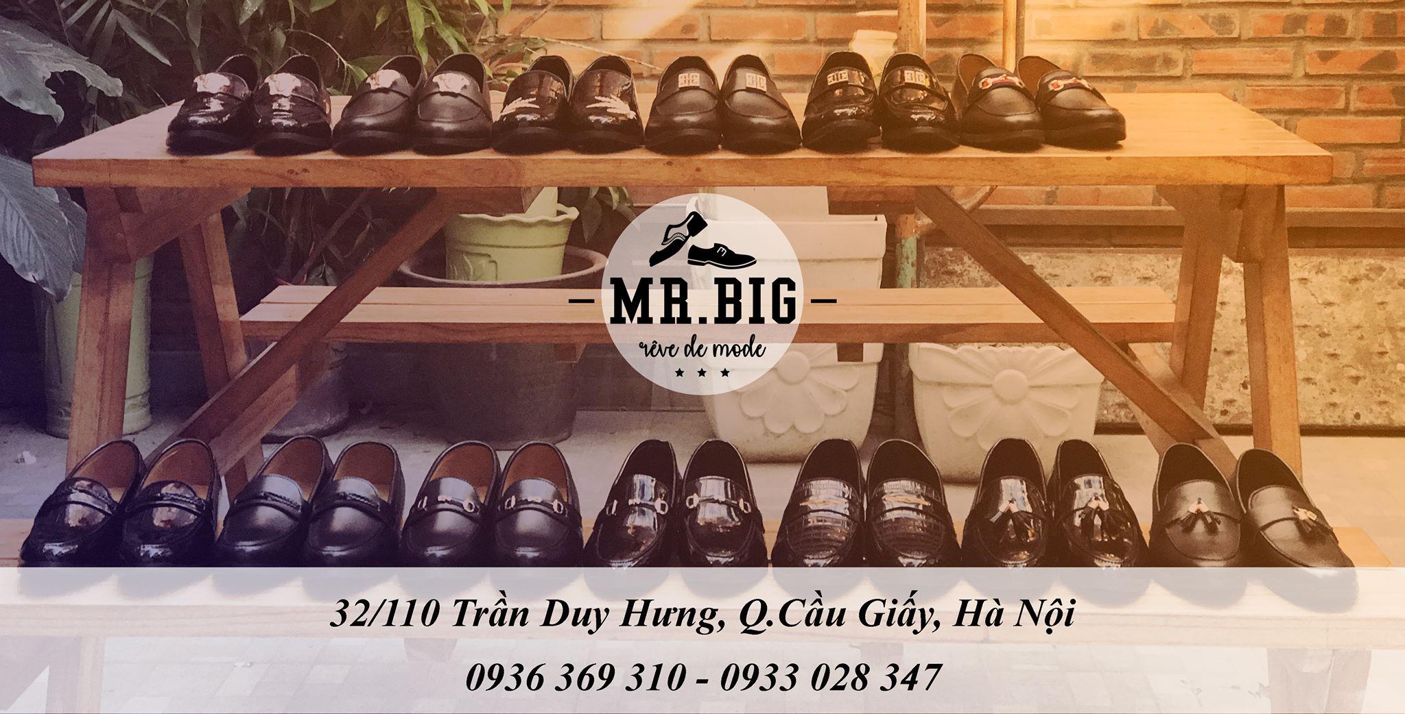 Shop giày lười nam Mr.Big Store tại Hà Nội .