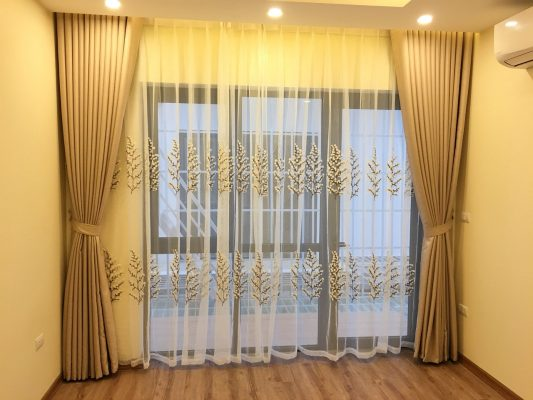 Chọn rèm cửa theo tông màu sơn