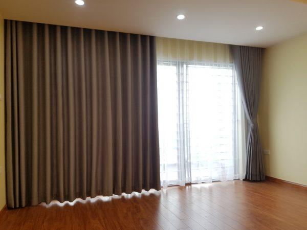 Rèm cửa hai lớp dành cho phòng khách